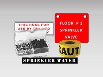 Signs for Sprinkler, Miscellaneous